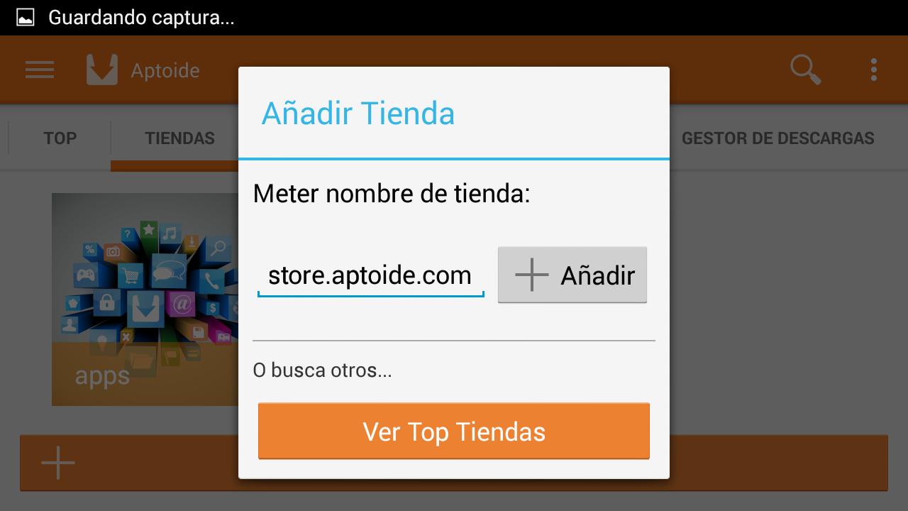 Añadir Tiendas a Aptoide