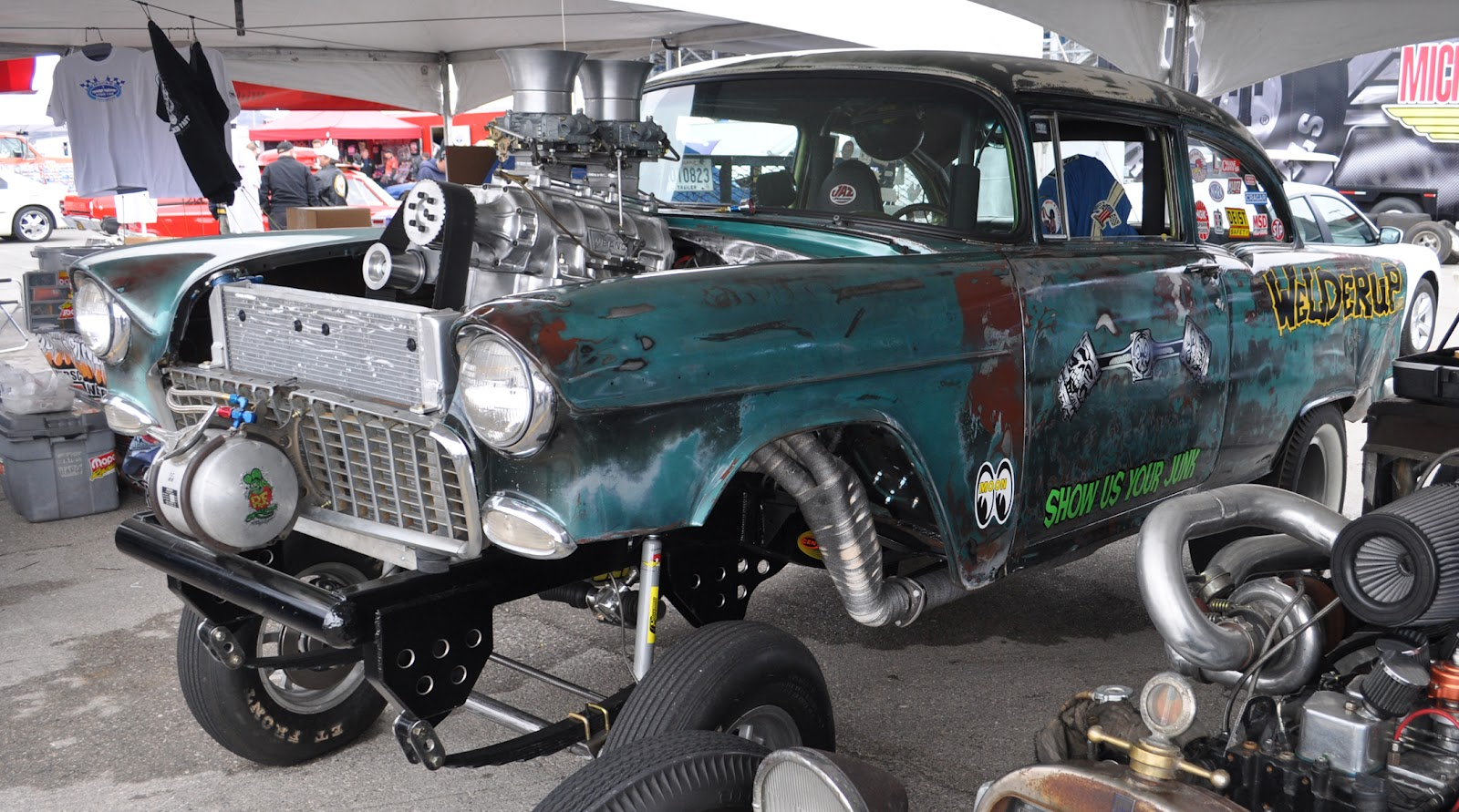greatest rat rod collection ive ever come across the welder up cars diamond t hauler