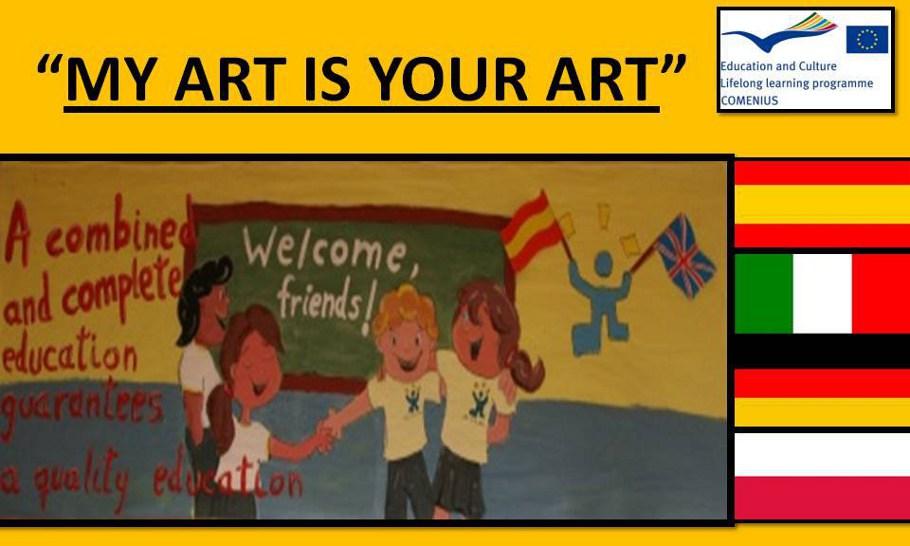 MY ART IS YOUR ART