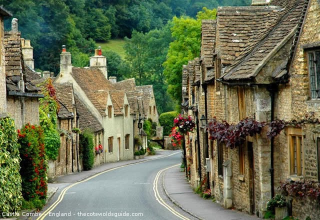 Castle Combe - village in Wiltshire, England