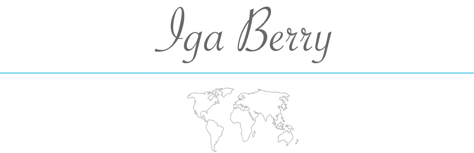 Iga Berry Lifestyle Travel Mindfulness