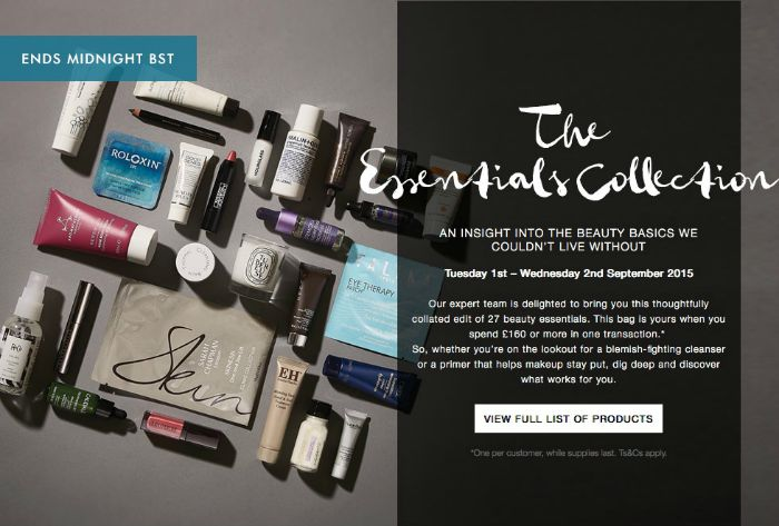 Space NK The Essentials Collection