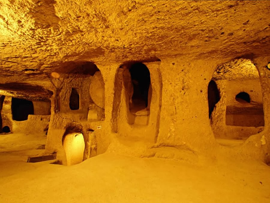 The Intriguing Ancient Underground City of Derinkuyu
