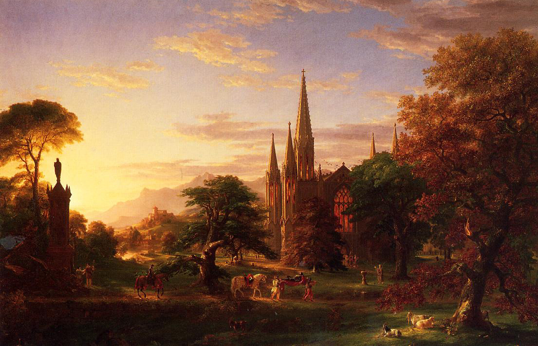 """thomas cole essay on american scenery 1835 Something truly american  thomas cole traveled to the white mountains of new  cole's """"essay on american scenery"""" is his verbal exaltation of."""