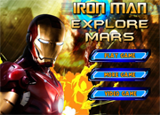 Iron Man Explore Mars