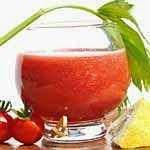 Suco de tomate para a saúde