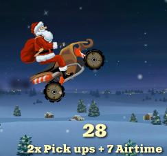 Santa Rider 2 Jogo de Natal Papai Noel