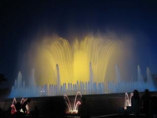 Magic Fountain of Montjuic Barcelona