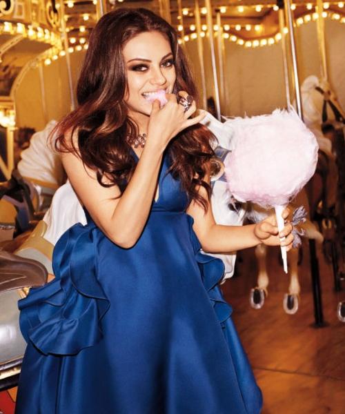 Mila Kunis, photos magazine Harper's Bazaar