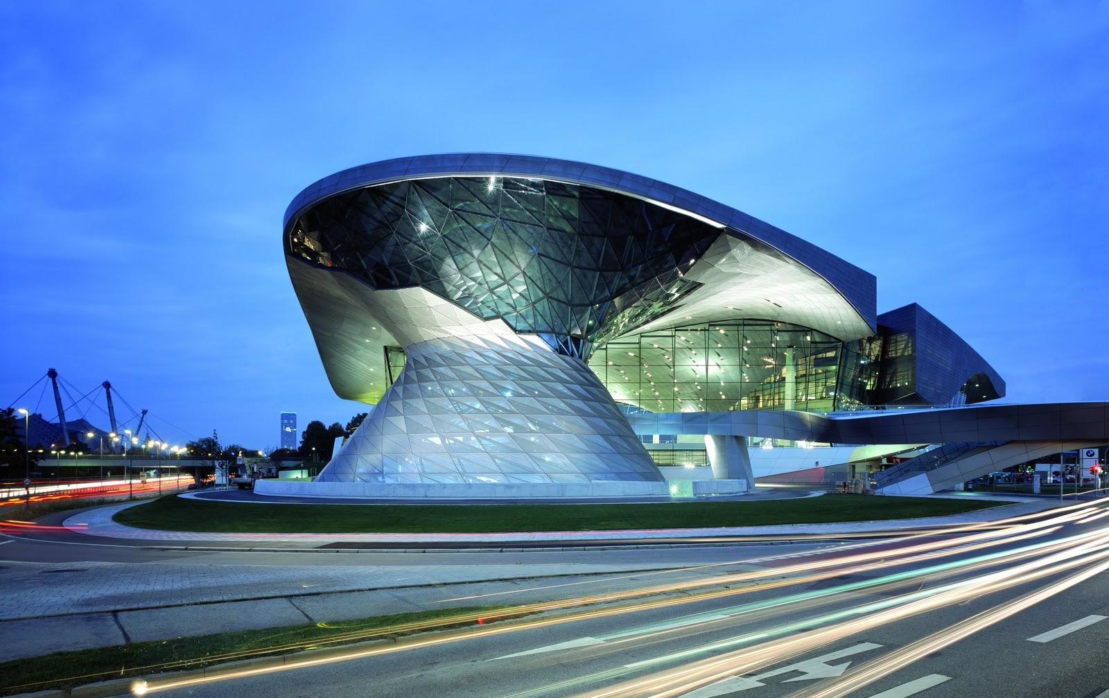 Twenty 4 sven bmw welt m nchen ein architektonisches meisterwerk - Architektonische meisterwerke ...