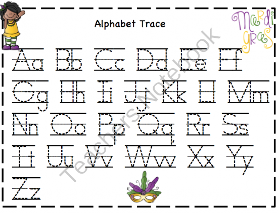 Free Worksheets Trace Numbers 120 Free Math Worksheets for – Mardi Gras Worksheets