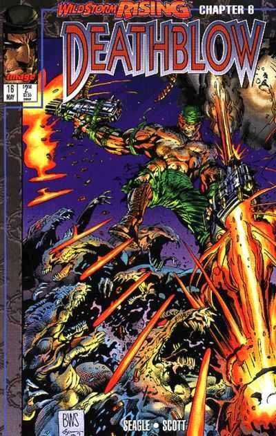 Deathblow 16 Cover Barry Windsor Smith
