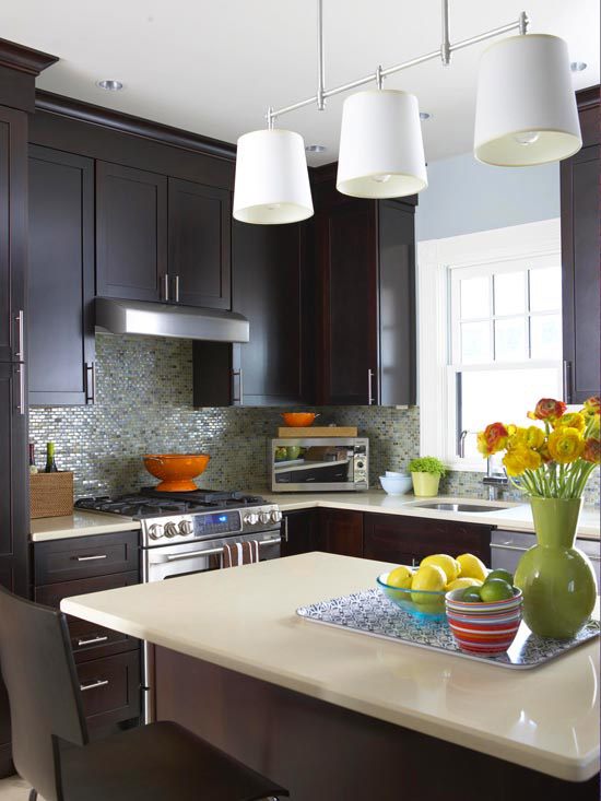 Люстры фото для кухни