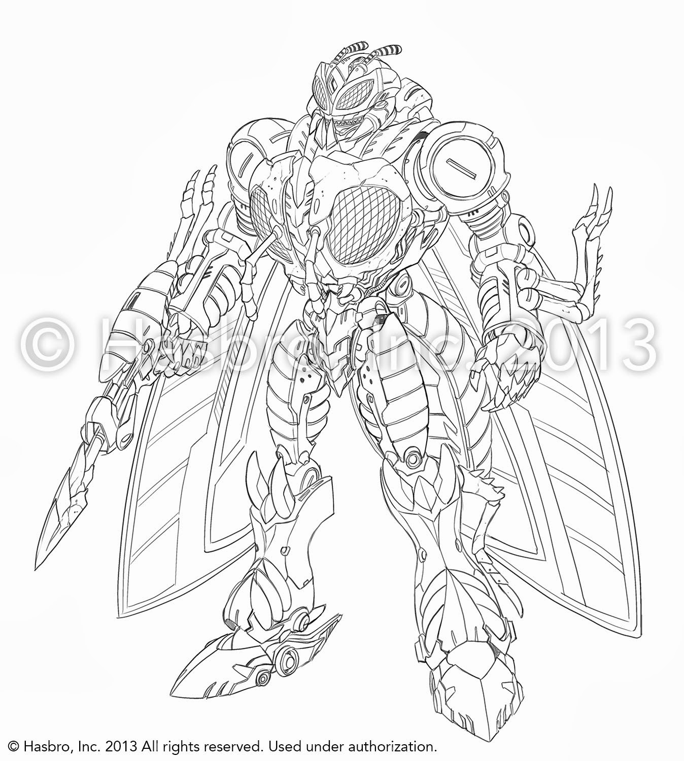 Concept Art TF Generations officiel par Emiliano Santalucia, Ken Christiansen, Marcelo Matere, Robby Musso, etc Waspinator+1