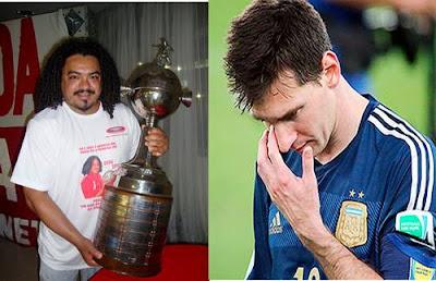 Perdigão tem Libertadores Messi não tem