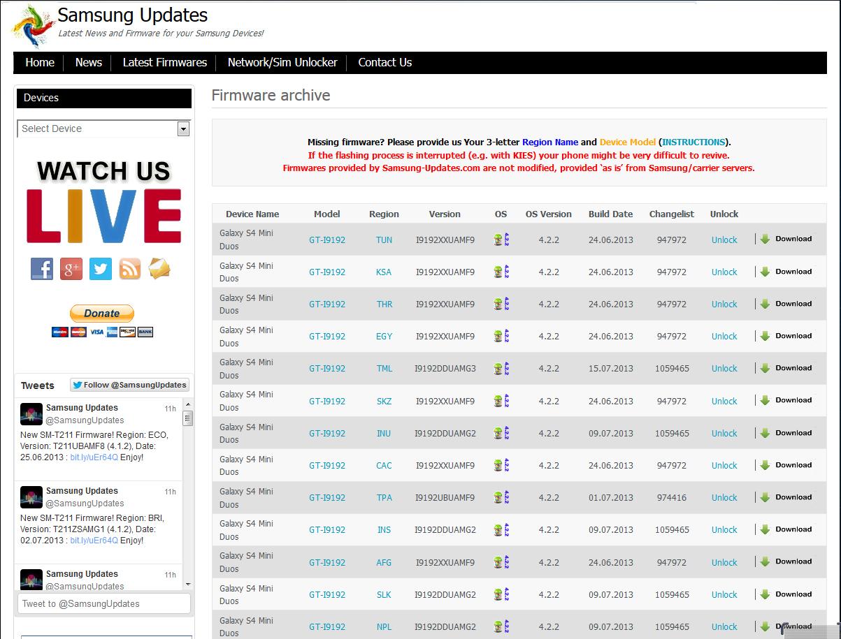 Samsung I9190 S4 mini Stock Firmware File Download | SkyFileOS