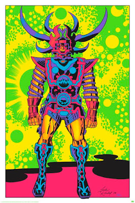 "San Diego Comic-Con 2015 Exclusive Jack Kirby ""Lord of Light"" Blacklight Prints by Heavy Metal - Lord of Light"