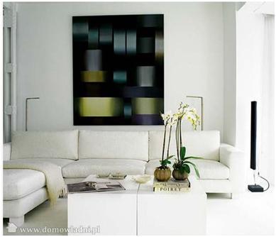 Decora y disena decoraci n de interiores salas color blanco for Decoracion piso en blanco