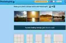 PasteToGrid: para realizar collages con fotos online gratis
