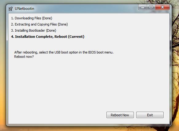 install ubuntu linux from usb