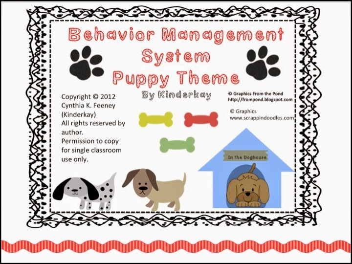 http://www.teacherspayteachers.com/Product/Behavioral-Management-System-with-a-Puppy-Theme-Edition-1-306443