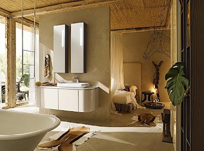 baño elegante lujo