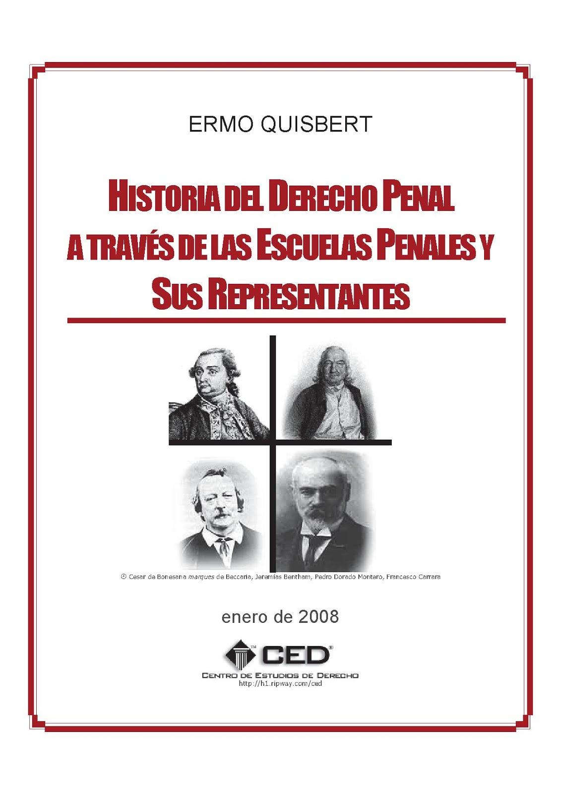 libro de derecho penal: