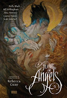 book cover of A Flight of Angels by Rebecca Guay, Holly Black, Bill Willingham, Louise Hawes, Todd Mitchell, Alisa Kwitney