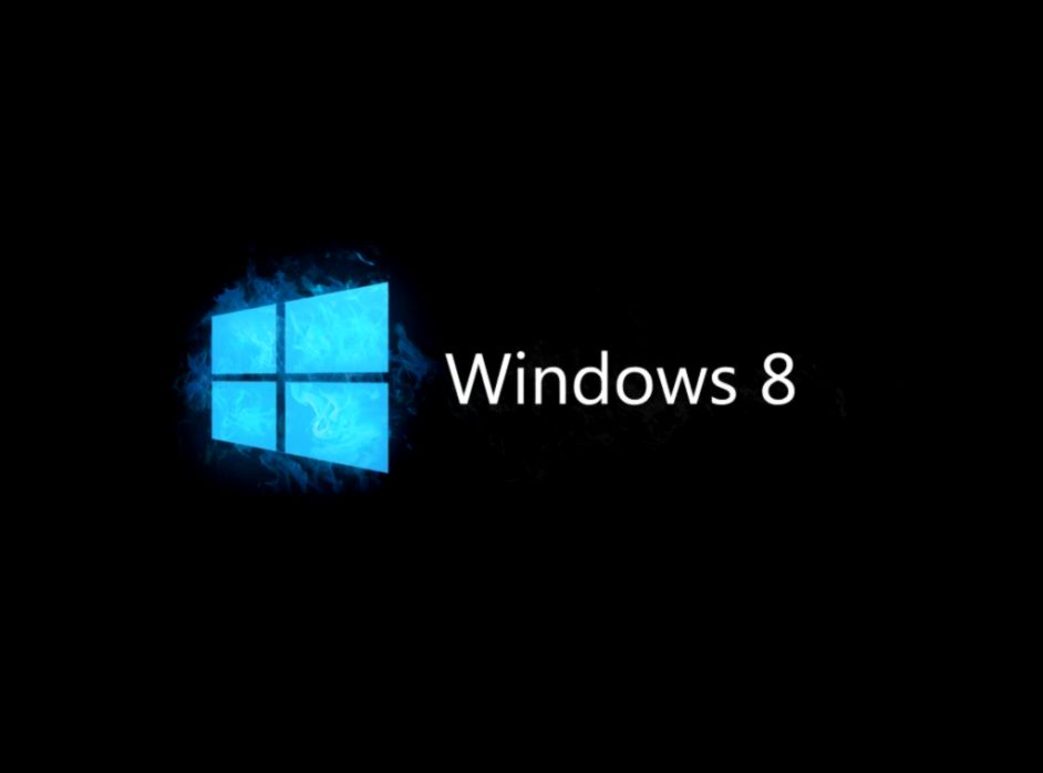 Windows 8 Black Background 611 Wallpaper