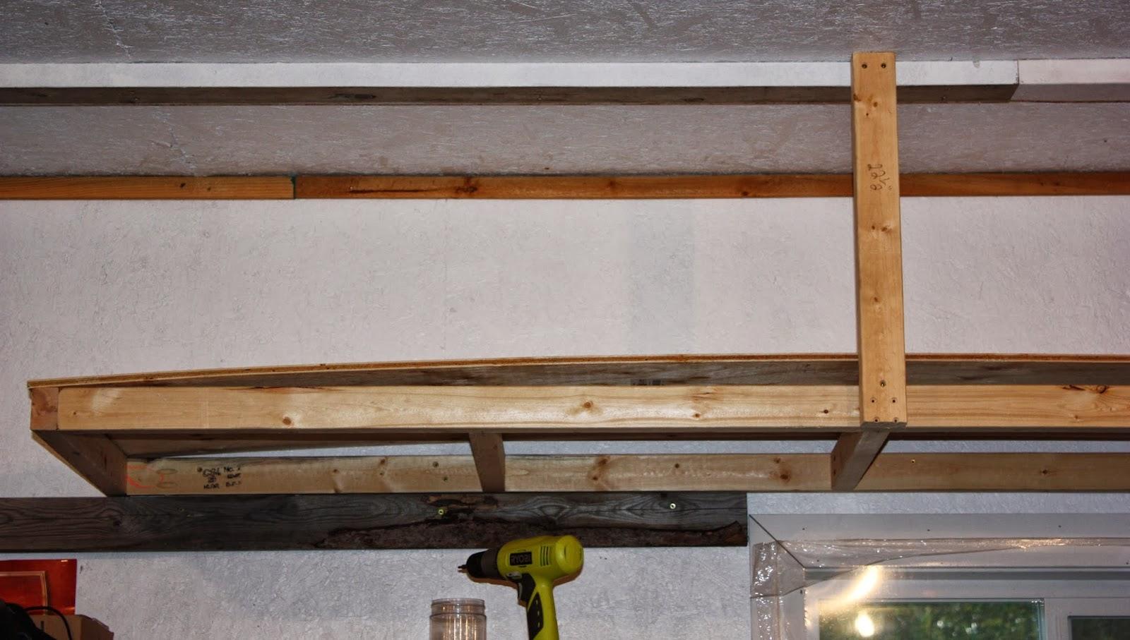 Artsybuildinglady: Garage Storage: Look up!