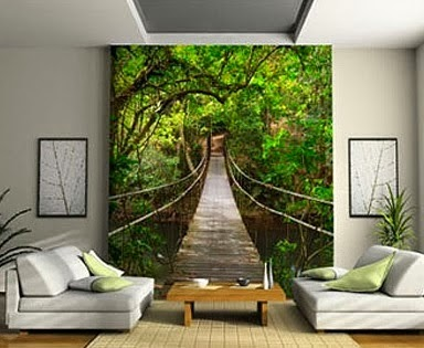 Una puerta a la imaginación en la pared de tu salón...