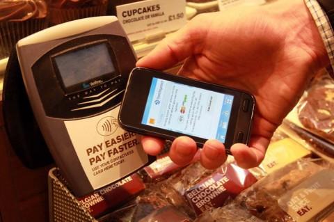 Paiement sans contact sur mobile