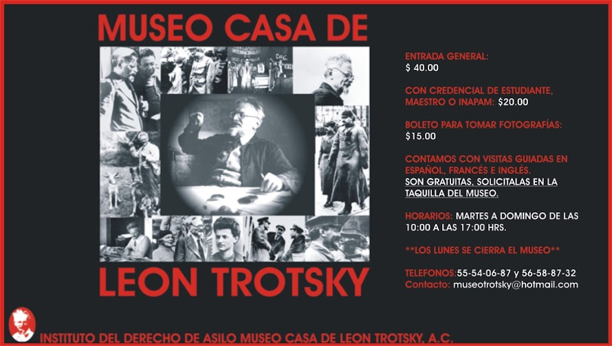 INSTITUTO DEL DERECHO DE ASILO MUSEO CASA DE LEON TROTSKY, A.C.