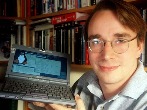 Linus Torvalds, criador do Kernel Linux
