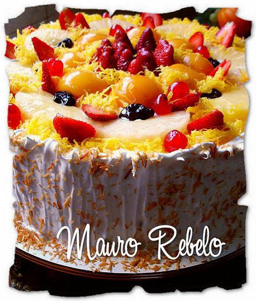 bolos, tortas, torta de frutas, bolo de frutas