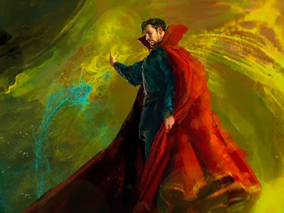 Publicada una nueva imagen de arte conceptual de 'Doctor Extraño'