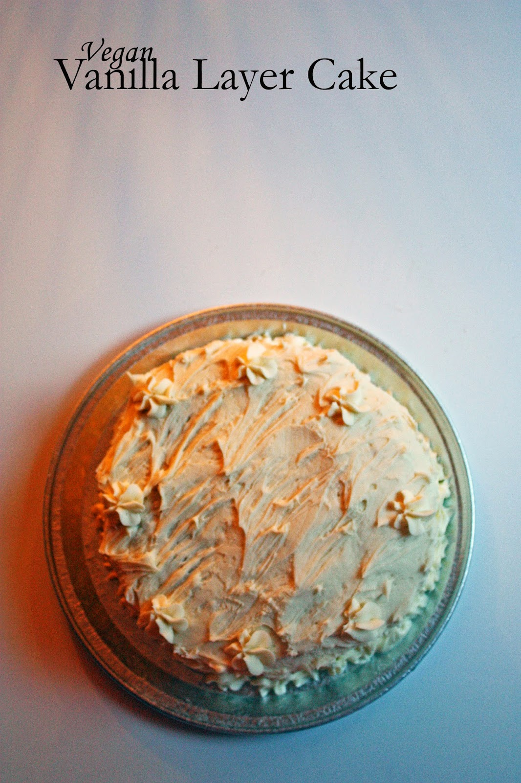 vegan vanilla layer cake how to philosophize with cake