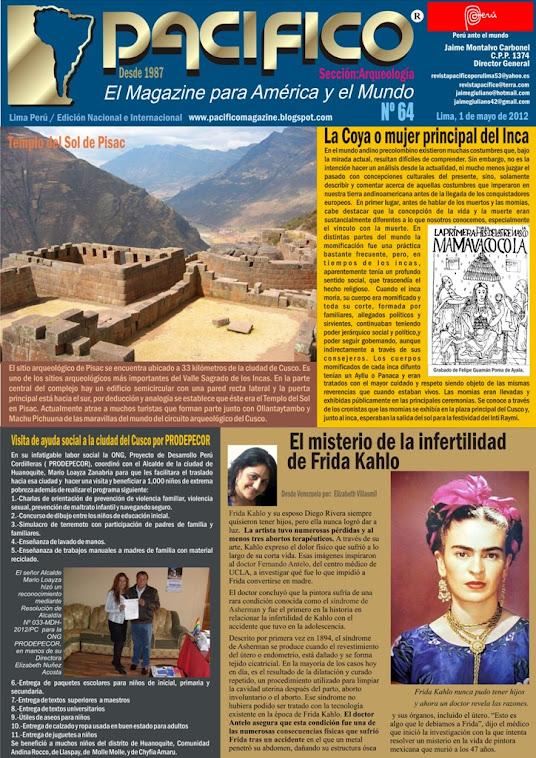 Revista Pacífico Nº 64 Arqueología