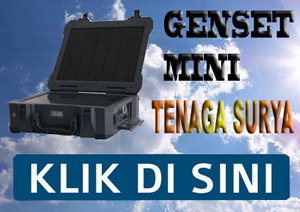 Genset Portable Tenaga Surya
