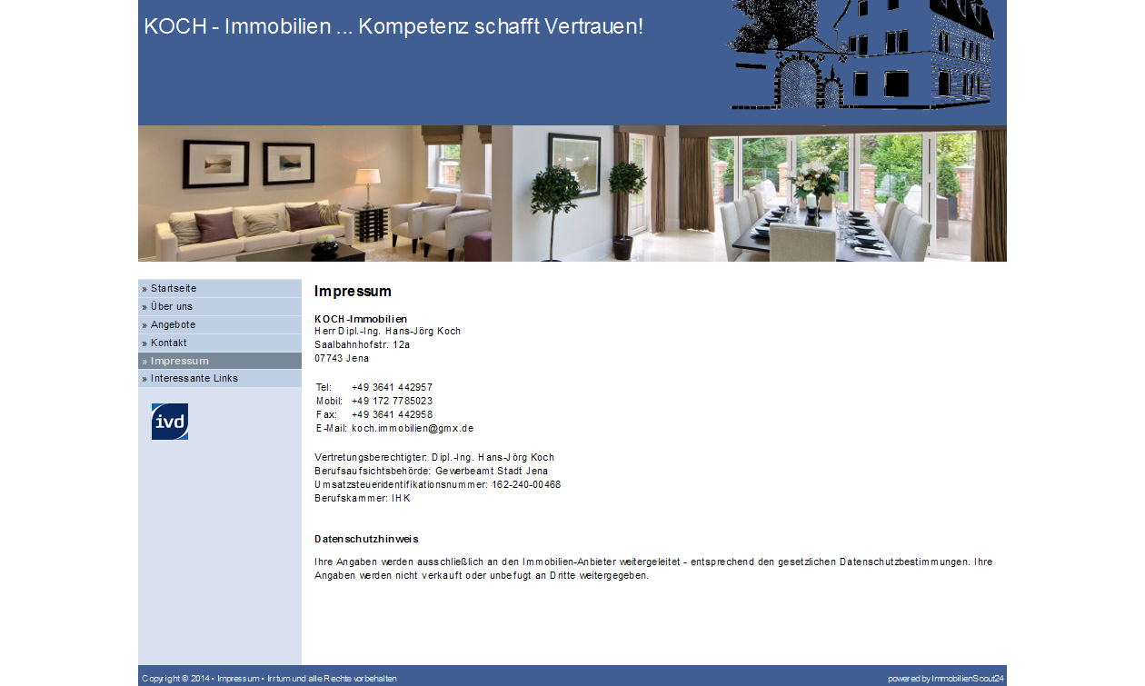 7 januar 2014 for Koch immobilien