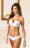 Carolina Cruz Osorio hot Charmela sexy lingerie models photo