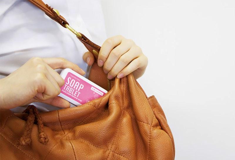 pastillas jabón de viaje Soap Tablet