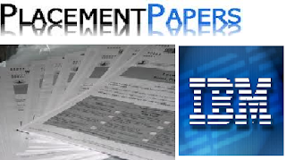 IBM PLACEMENT PAPERS