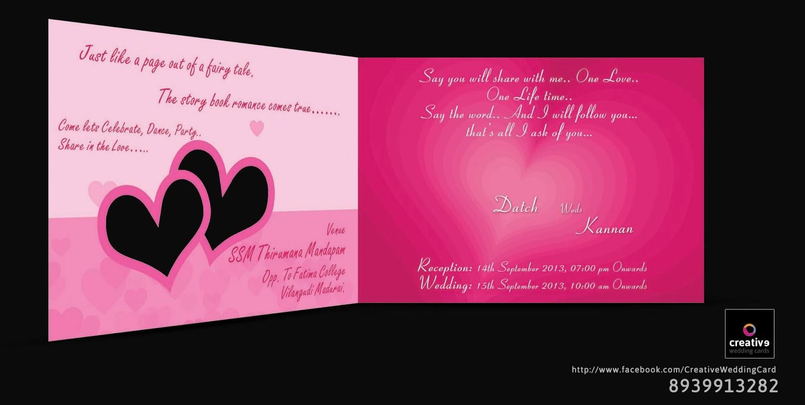 Chrompet Wedding Card