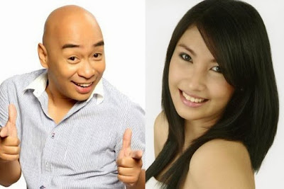 Wally Bayola and Eb Babes Dancer Yosh Rivera