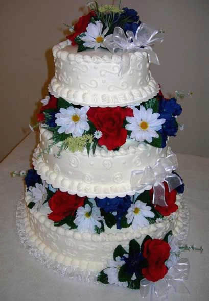 Red And White Wedding Cakes 60 New  red white and
