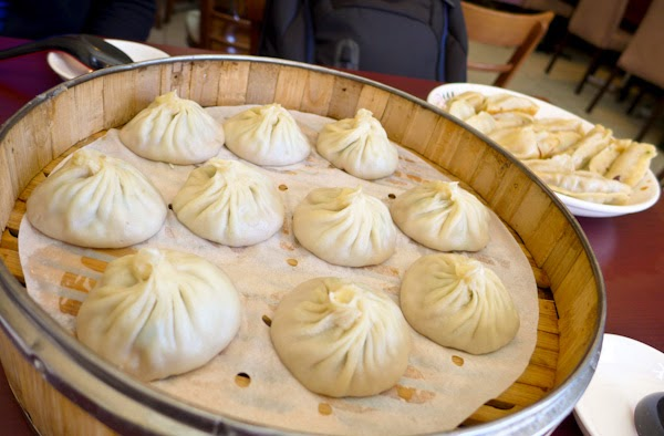 Pork Leek Soup Dumplings - Xiao Long Bao Montreal