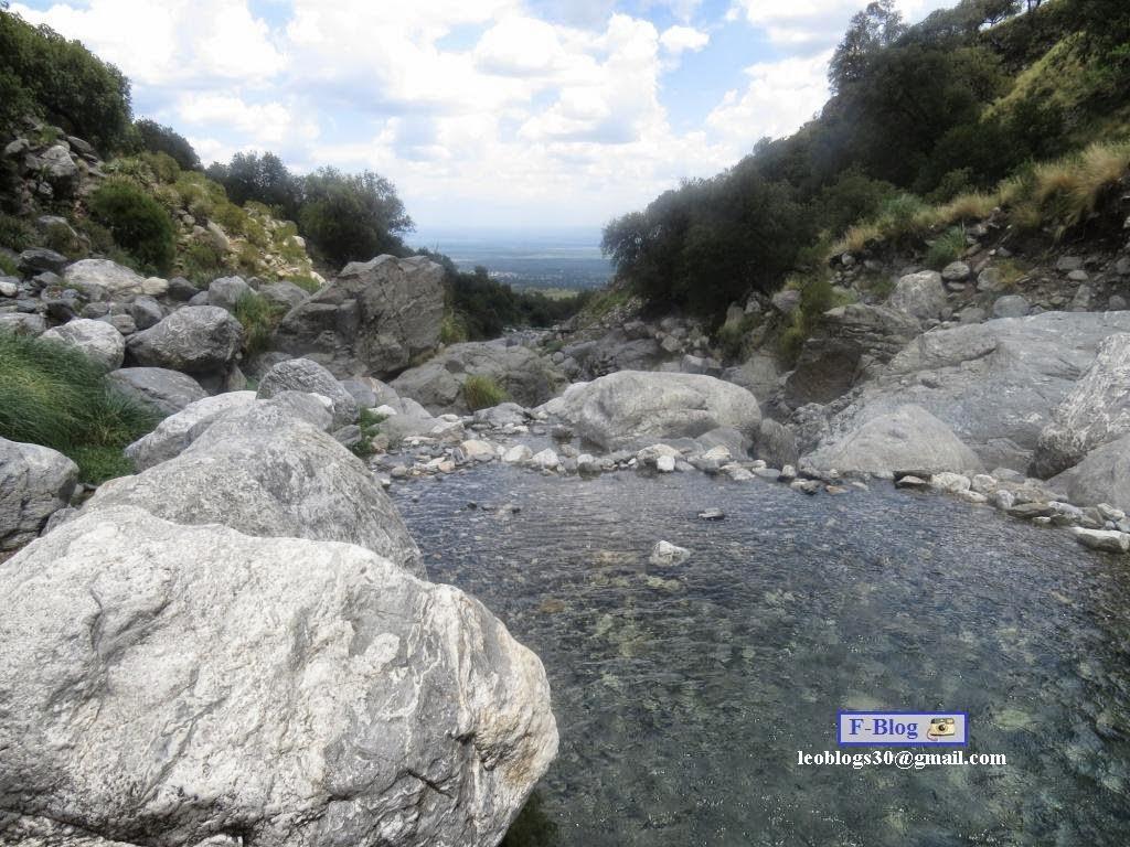 Río bajando la sierra, Merlo, San Luis