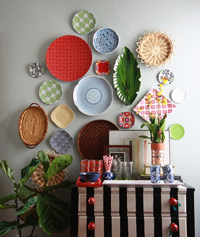 Secret Trick for Hanging a Plate Wall