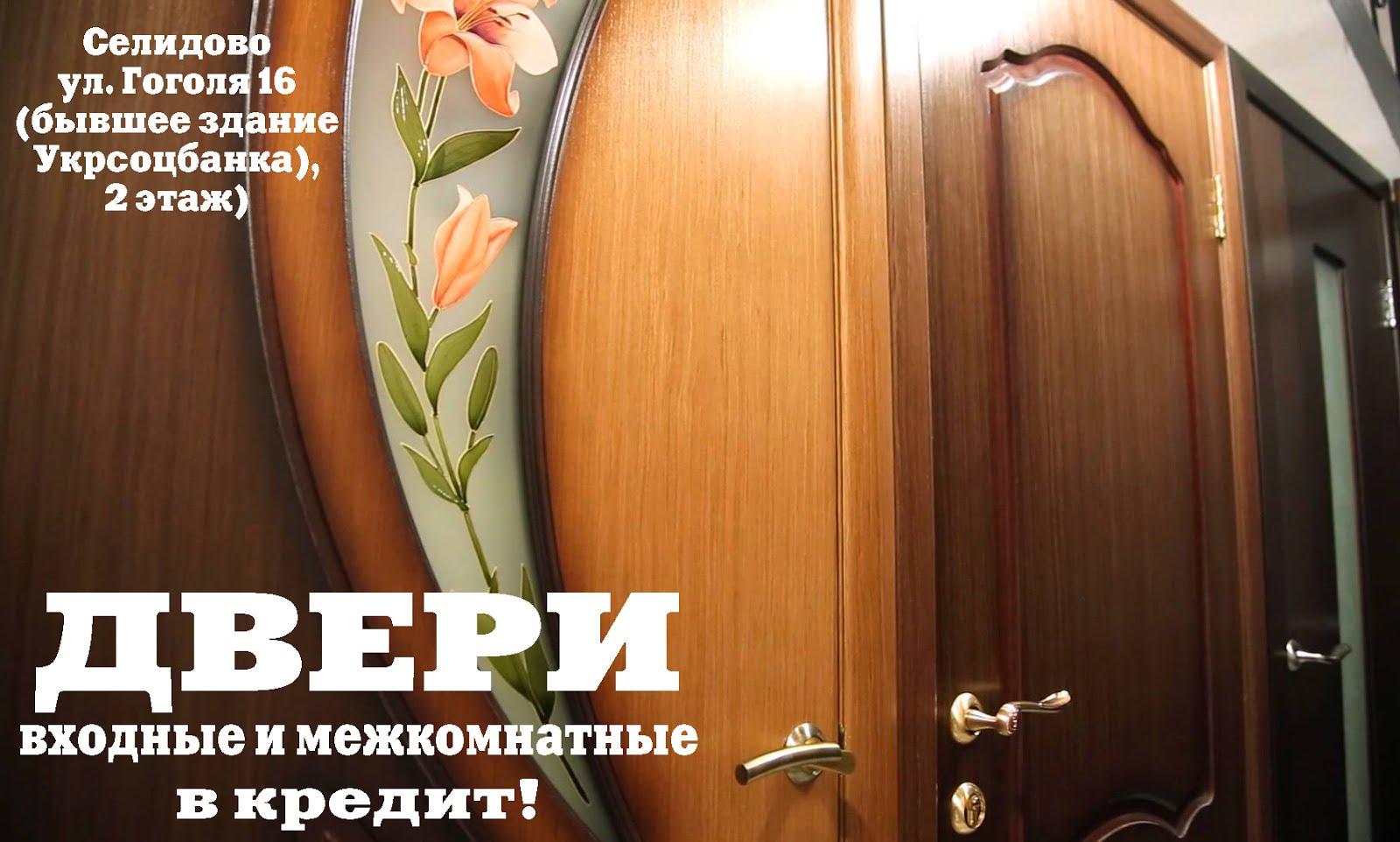 Двери входные и межкомнатные в Селидово